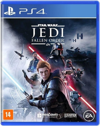 Star Wars Jedi Fallen Order Ps4 Mídia Física Novo Lançamento
