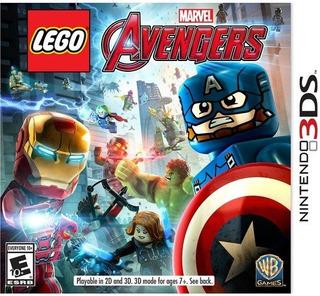 Avengers De Lego Marvel - 3ds