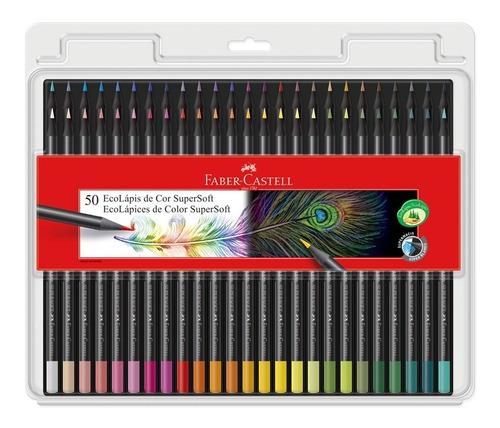 Lapices De Colores Supersoft X50 Faber-castell Nuevo