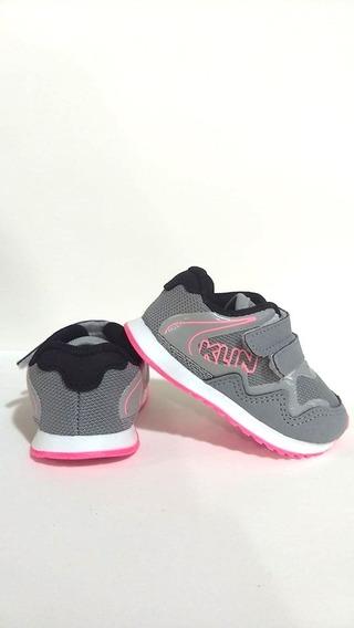 Tênis Menina Klin Mini Walk 4530/ Gaby Calçados