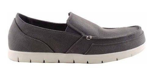 Zapato Alpargata Tela Hombre Briganti Tipo Crocs Hcal00717
