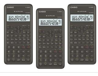 Paquete De 3 Calculadoras Científicas Casio Fx-82ms2