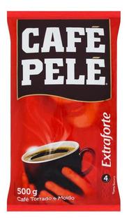 Café Torrado E Moído Extra Forte Pelé Pacote 500g