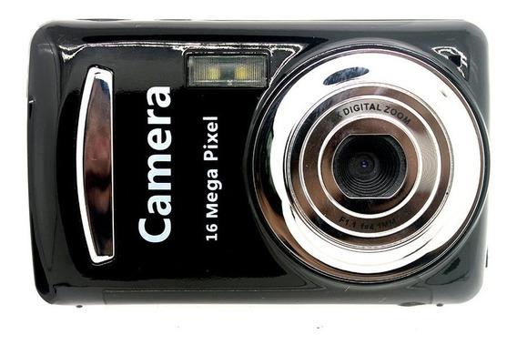 Xj03 1600 Milhões De Crianças Câmeras Digitais Em Preto