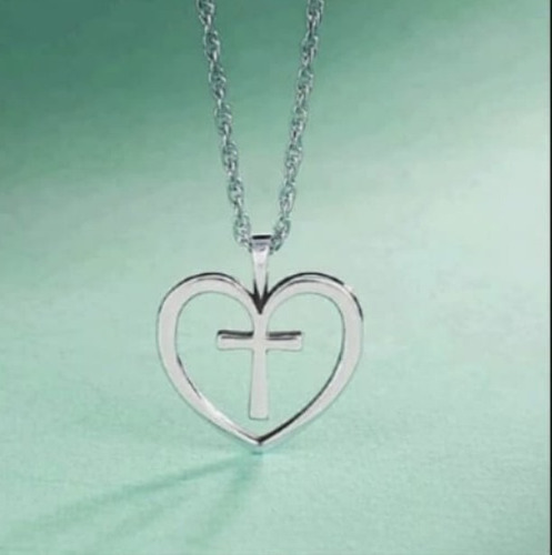 Imagen 1 de 1 de Collar De Plata 950 Dijes Personalizados Cruz Mujer Regalos