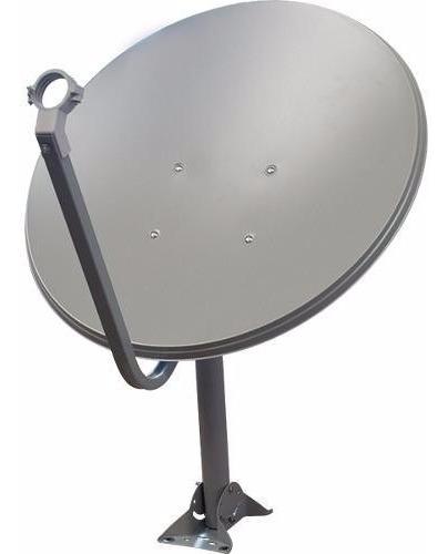 5 Antenas Ku 60cm + Lnb Duplos 100 Metros De Cabo Rg6/rg59