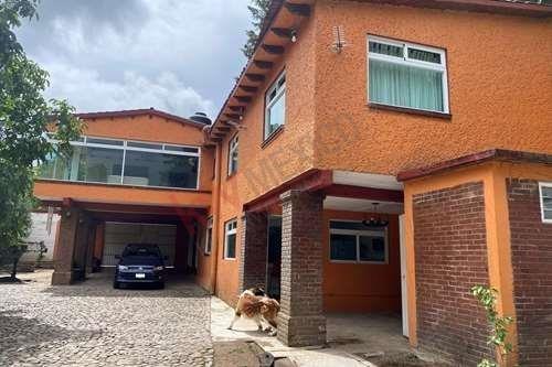 Venta De Hermosa Casa Campestre Santiago Tianguistenco