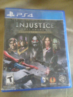 Injustice Gods Among Us Ps4 Remato