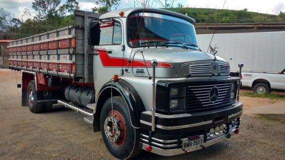 1316 1986 Turbo Reduzido, Freio A Ar, Uma Reliquia, Facilito