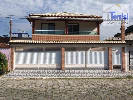 Casa Em Praia Grande, 02 Dormitórios, Condomínio Fechado, Canto Do Forte, Ca0141 - Ca0141