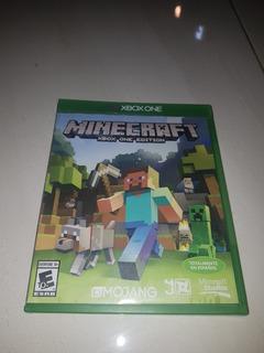 Se Vende Minecraft Xbox One Edition Condiciones Al 100%