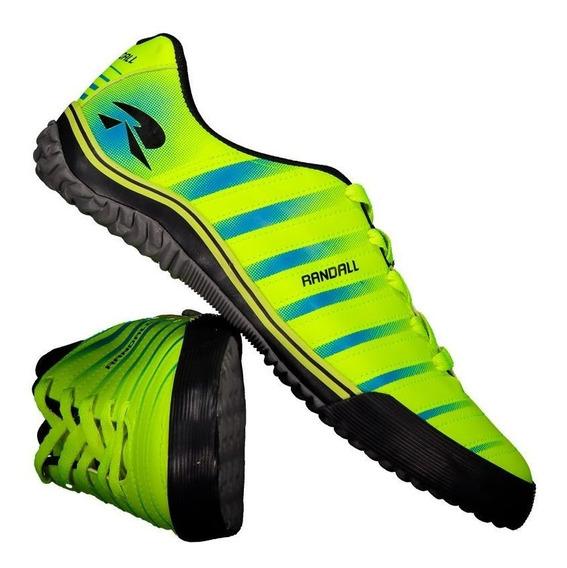 Chuteira Randall Line Futsal Amarela