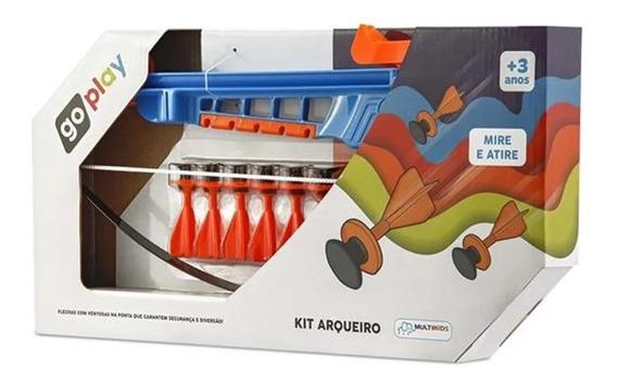 Kit Arqueiro Infantil Go Play Multikids - Br953