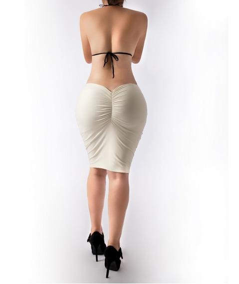 Falda Corte Colombiano Licra Importada Muy Sexy Antro Casual