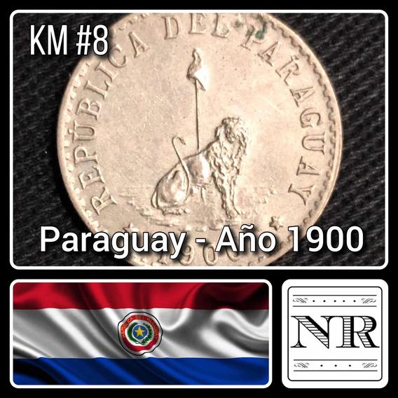 Paraguay - 20 Centimos - Año 1900 - Km # 8