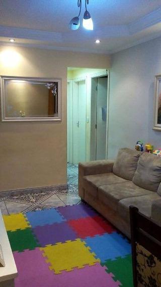 Apartamento Com 2 Dormitórios À Venda, 54 M² Por R$ 220.000 - Alves Dias - São Bernardo Do Campo/sp - Ap0442