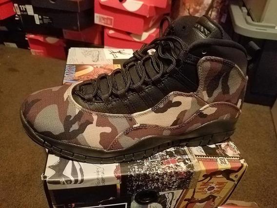 Jordan X 10 Camo 310805-200