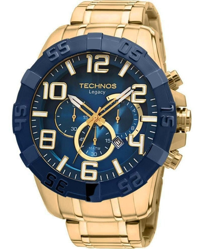 Relógio Technos Masculino Classic Legacy Dourado Os20iq/4a