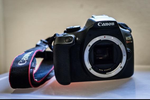 Câmera Canon T6 + Kit 75-300