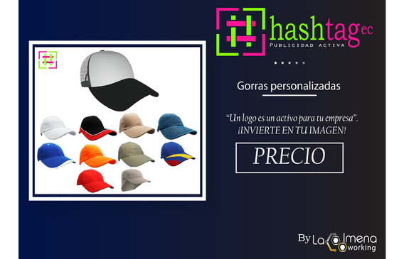 Gorras Sublimadas Bordadas Parches En Varios Modelos Y Color