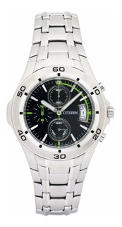 Reloj Citizen An3347 Crono Acero Elegi Color Agente Oficial