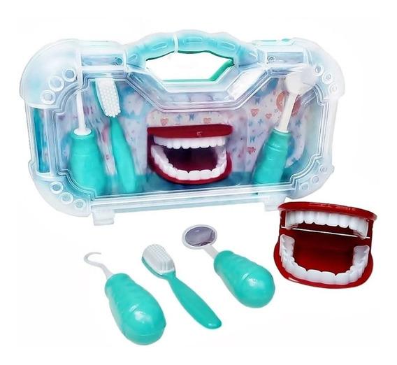 Maleta Mini Dentista Aprendendo A Escovar Os Dentes
