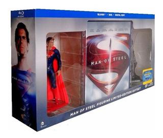 Man Of Steel Superman Figuras Zod Pelicula Blu-ray + Dvd