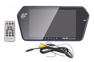 Sensores De Reversa Con Monitor 7 ,camara,bluetooth,usb Y Sd