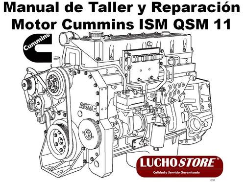 Motor mins Ism Qsm 11 Manual De Taller Reparacion Español on