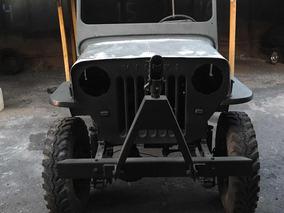 Jeep Willys 1954_militarizado -cara De Cavalo + Acessórios