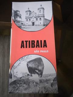 Panfleto Antigo Cidade De Atibaia Estado De São Paulo