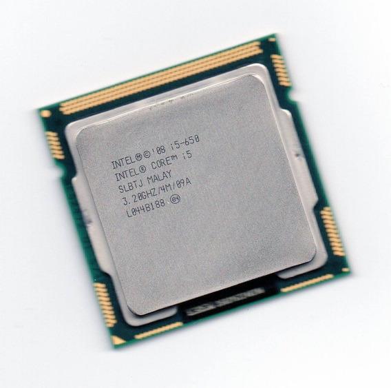 Processador Intel Core I5 650 3.20ghz 4mb Lga 1156 + Frete