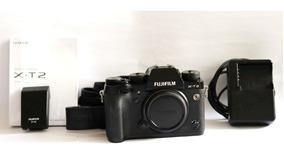 Camera Fuji Film Xt2 Não Tem Caixa Somente Vendas