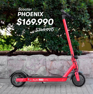 Scooter Eléctrico Red Mobility - Modelo Phoenix