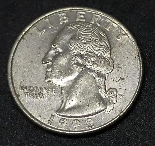 Estados Unidos - Moneda De  Quarter Dollar - Año 1998p