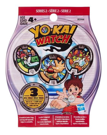 Sobre Serie 2 Para Reloj Yo Kai Watch Con 3 Medallas + Envio