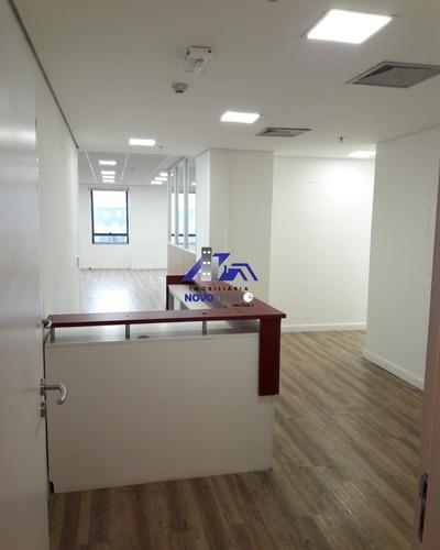 Salas Para Locação Em Alphaville Com 203,26m² - Complexo Madeira - Sa00147 - 69245706
