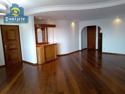 Apartamento Com 3 Dormitórios Para Alugar, 192 M² Por R$ 2.000/mês - Vila Bastos - Santo André/sp - Ap8569