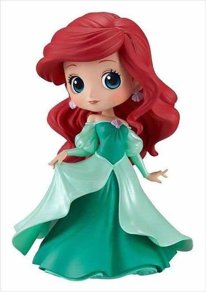 Banpresto Qposket Disney La Sirenita Ariel Vestido Verde