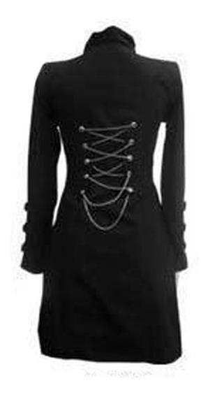 Chaqueta Dama Abrigo Gaban Blazer Mujer Saco Gotico