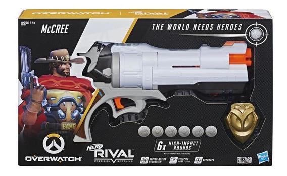 Nerf E3121 Lanzador Overwatch Mccree Nerf Rival Con Placa De