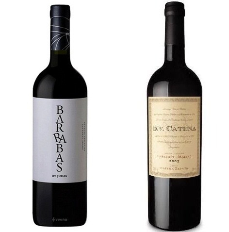 Barrabas By Judas + Dv Catena Malbec- Malbec 2016