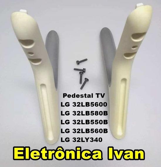 Pedestal Tv Lg 32lb5600 32lb580b 32lb550b 32lb560b 32ly340