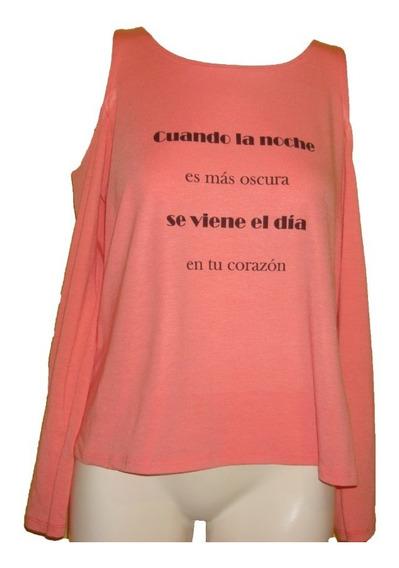 Vestido De Lycra Color Rosa Hombro Abierto