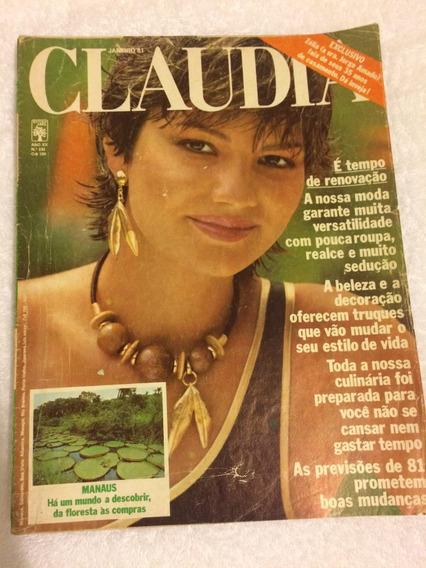 Revista Claudia Luiza Brunet Jorge Amado Miss Brasil Rejane