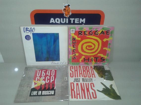 Lp Vinil Shabba Summer Reggae Hits Ub40 - Lote