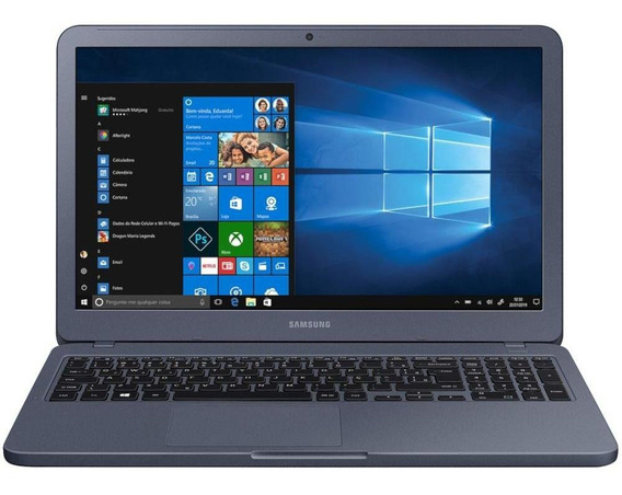 Notebook Samsung Essentials E20 4gb 15,6 500gb W10