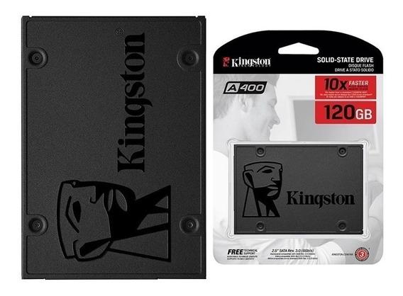 Hd Ssd 120 Gb Sata 3 Kingston A400 - 500 Mb/s