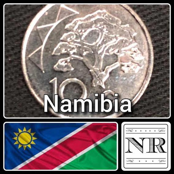 Namibia - 10 Cents 2012 - Km # 2 - Arbol