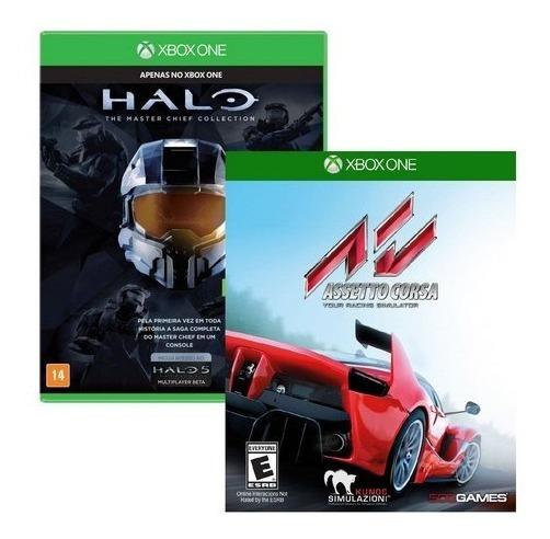 Assetto Corsa + Halo Masterchief - Midia Fisica - Xbox One